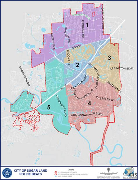 map of sugar land texas sugar land tx official website crime prevention officers