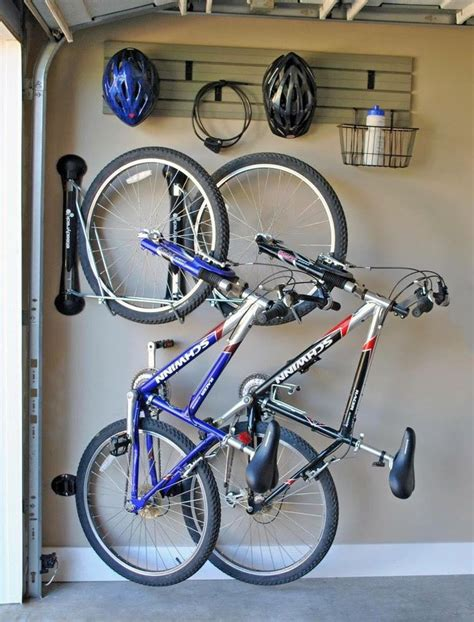 Garage Organization For Bikes Best 25 Vertical Bike Rack Ideas On Wall Bike