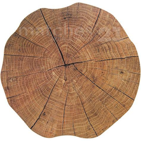 Tischsets Aus Holz by Tischset Platzset Motiv Baumstamm 1 Stk Rund 216 38 Cm