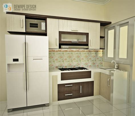 how to set kitchen cabinets dewape design jasa interior di kota malang