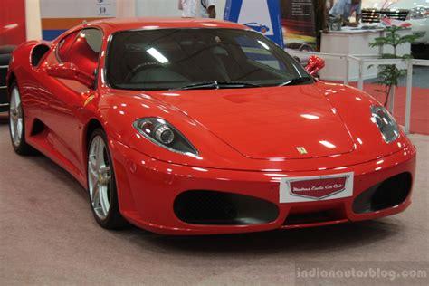 maserati chennai times auto expo chennai ferrari f430 front indian autos blog
