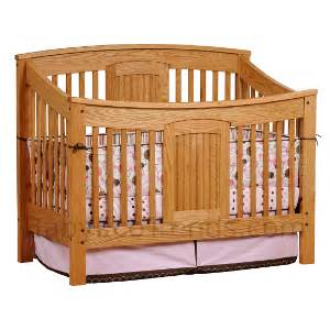 Amish Made Baby Cribs Amish Meridian 4 In 1 Convertible Baby Crib Cribs Made In Usa Baby Eco Trends