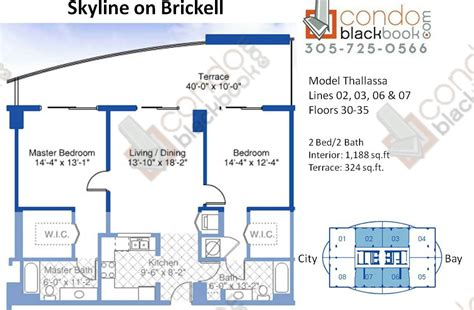 skyline brickell floor plans skyline on brickell unit 3406 condo for sale in brickell