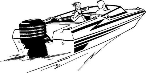 boat drawing black and white speed boat clipart clipart best