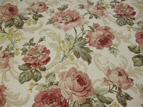 cabbage rose upholstery fabric 100 cotton cabbage roses drapery fabric upholstery fabric