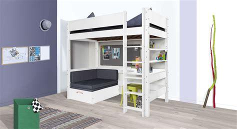 Hochbetten Mit Sofa by Hochbett Mit Sofa Optionalem Schreibtisch Bestellen