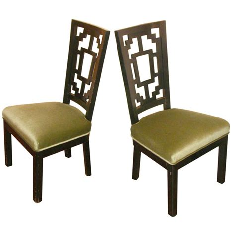 set of six style dining chairs at 1stdibs