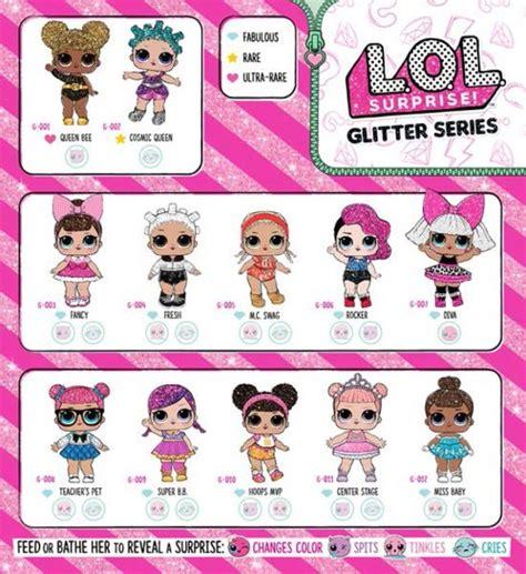 Lol L O L Doll Glitter Series l o l glitter series doll time