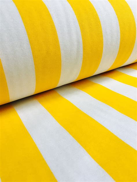 yellow and white upholstery fabric yellow white striped fabric sofia stripes curtain