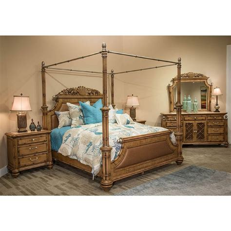 aico michael amini excursions canopy bedroom set