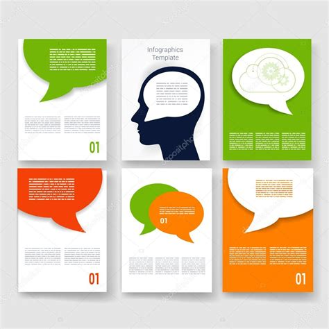 Brochure Design Templates Collection Layout Free Vector In | templates vector brochure design collection applications