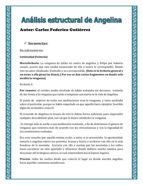 angelina carlos f gutierrez wikipedia angelina estructural del relato