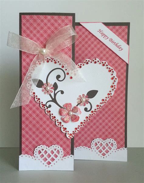handmade greeting cards paper blossoms