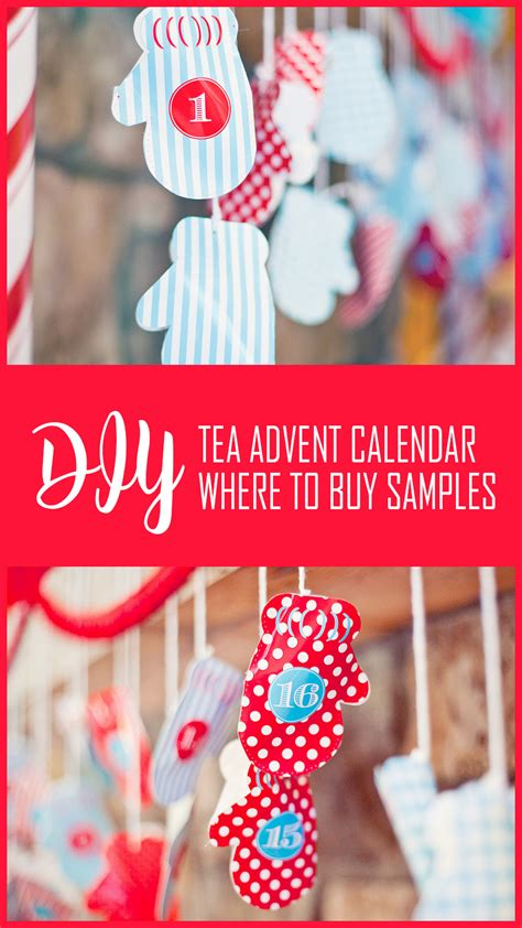 Calendar Buy Canada Diy Tea Advent Calendar Canada Where To Buy Tea Sles