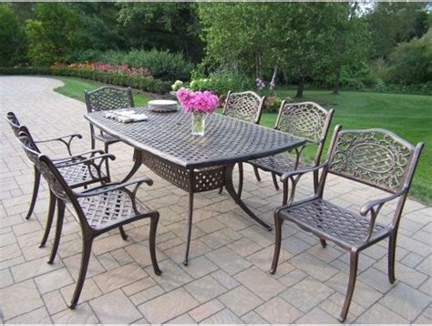 Outdoor Aluminum Patio Furniture by Oakland Living Oxford Mississippi Cast Aluminum Patio