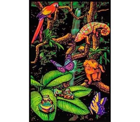 cheap black light posters rainforest blacklight poster items for best
