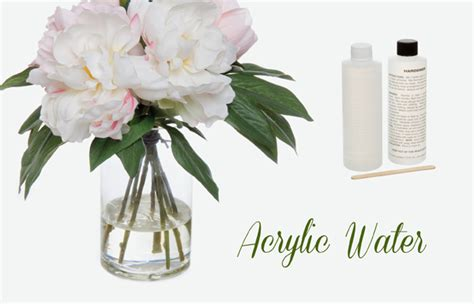 Vase Of Water Acrylic Water Diy Step By Step The Koch Blog