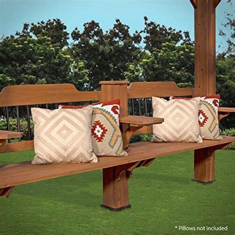 Backyard Discovery Cedar Pergola 12 By 10 Backyard Discovery 1606517 Oasis Pergola 12 X 10