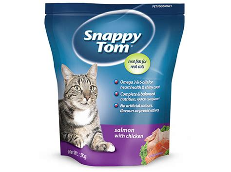 Snappy Tom Salmon With Chicken 1 5kg Makanan Kucing Snappy Tom Salmo salmon with chicken 3kg snappy tom