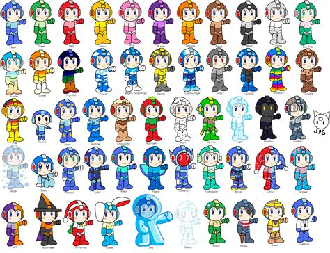 neopet colors megaman with neopet colors by jigglypuffgirl on deviantart