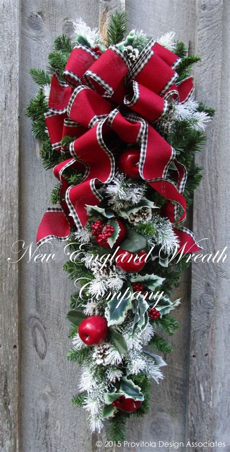 swags wreaths best 25 swags ideas on