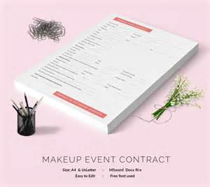 event contract template 18 free word excel pdf