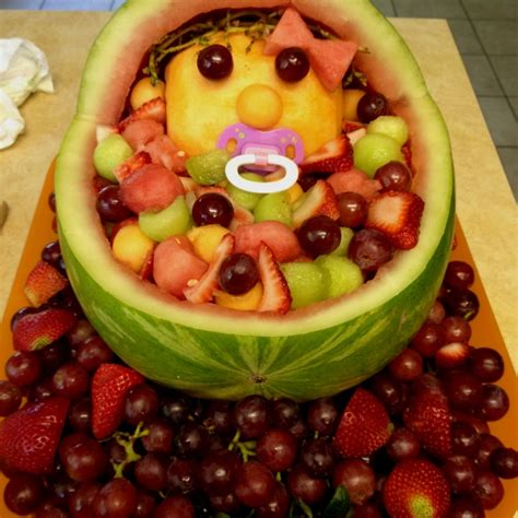 Salad For Baby Shower by Baby Shower Fruit Salad Baby Shower