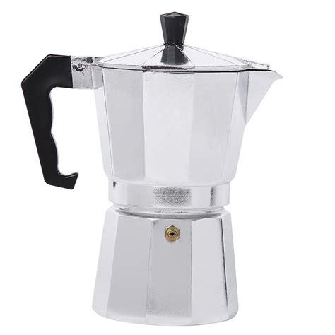 Promo Moka Pot Cofee Maker Alumunium Kap 12 Cups Berkualitas moka espresso coffee maker machine glantop aluminum 1cup 3cup 6cup 9cup 12cup italian stove top
