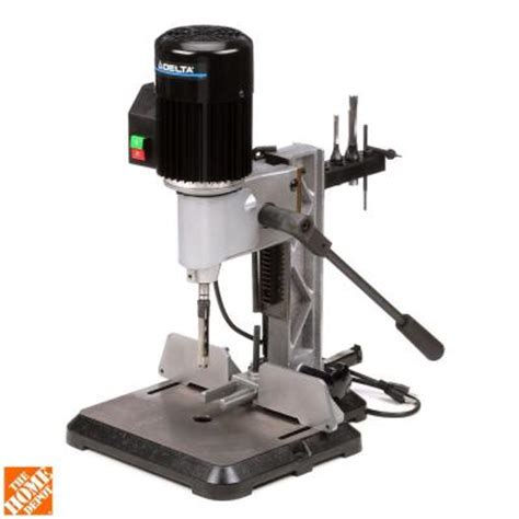 Delta 3 8 In Bench Top Mortising Machine 14 651 The Home Depot