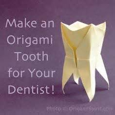 Origami Teeth - christopher as willy wonka s dentist in