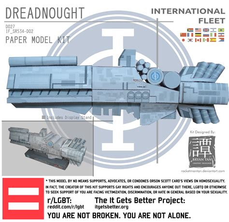 Papercraft Paradise - ender s papercraft if dreadnought papercraft