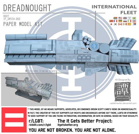 Papercraft Paradise - ender s papercraft if dreadnought papercraft