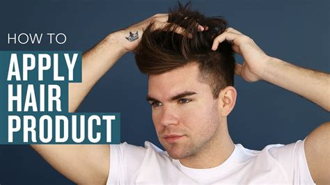 s hair styling tips how to properly apply product