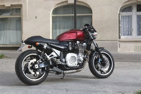 modification motorcycles yamaha xjr 1300 caf 233 racer par modification motorcycles