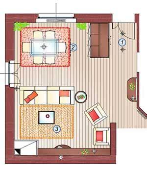 arredare  metri quadri la casa giusta