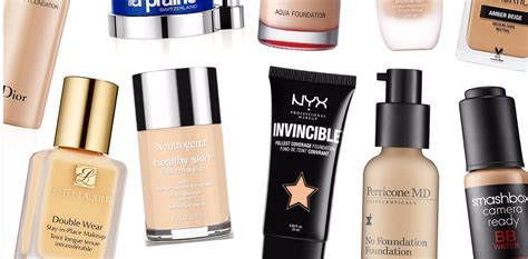 best kind of foundation best foundations for your skin type philippine tatler