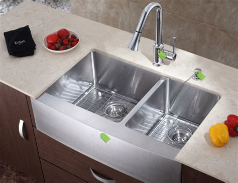 Contemporary Kitchen Sink How To Restore Your Stainless Steel Kitchen Sinks Interior Design Design News And