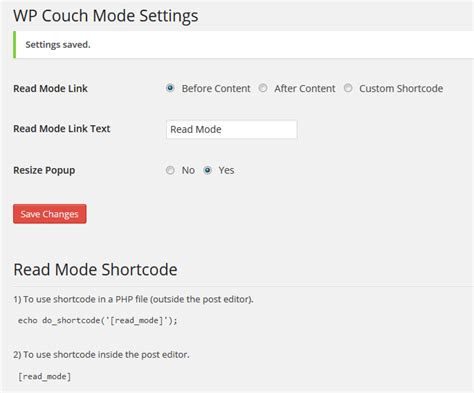 couch mode wp couch mode plugin for readers who want to focus on content