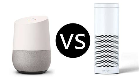 amazon echo vs google home which is the best smart speaker google home vs amazon echo pc advisor