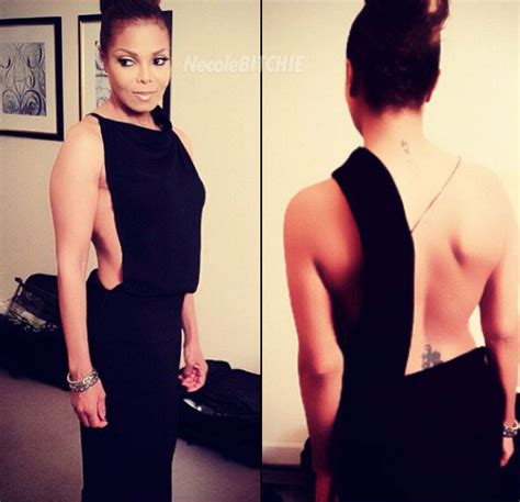janet jackson is nearly 50 years old and looks like this