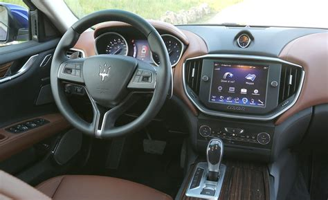 maserati ghibli interior car and driver