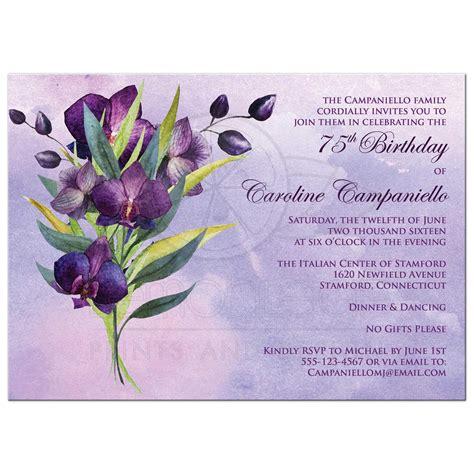 435 best purple black birthday party invitations images on pinterest