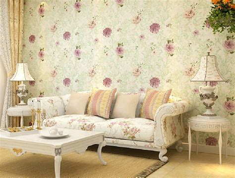 Country Living Room Wallpaper Home Decorating Wallpaper Of American Country Style Living