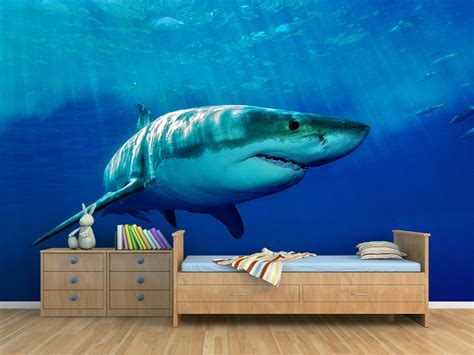 shark wall murals animal wall murals for the home