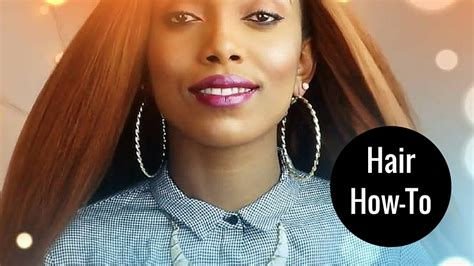 how to crochet straight hair straight styles un ruly