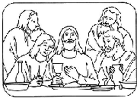 lds coloring pages last supper lds clipart last supper clip art