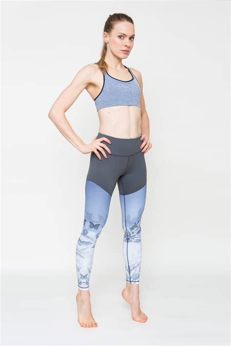 patterned exercise tights tight blue patterned workout leggings niki p