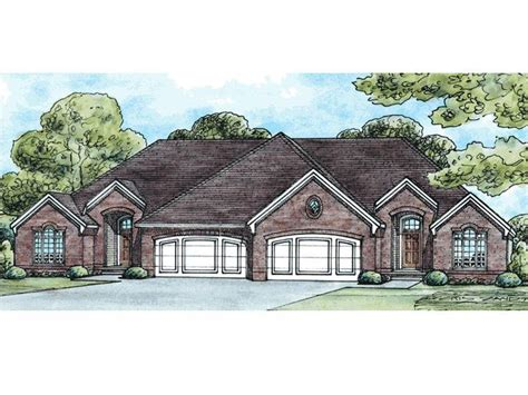multi family house plan 031m 0020 duplex plan