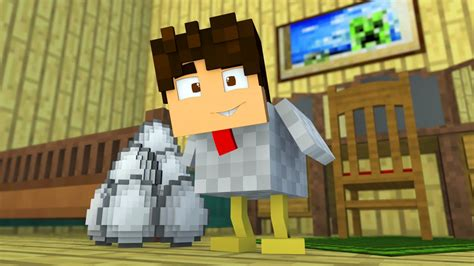 minecraft eu odeio o austin vire uma galinha minigame youtube