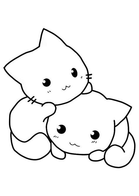 imagenes para dibujar gatos dibujo para colorear gatos img 21154